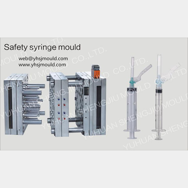 Safety Syringe Injection Molding