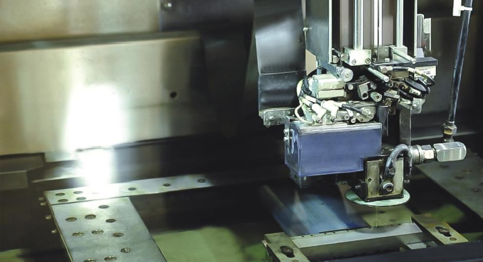 Sodick Slow-feeding Wire-cut Machine is working